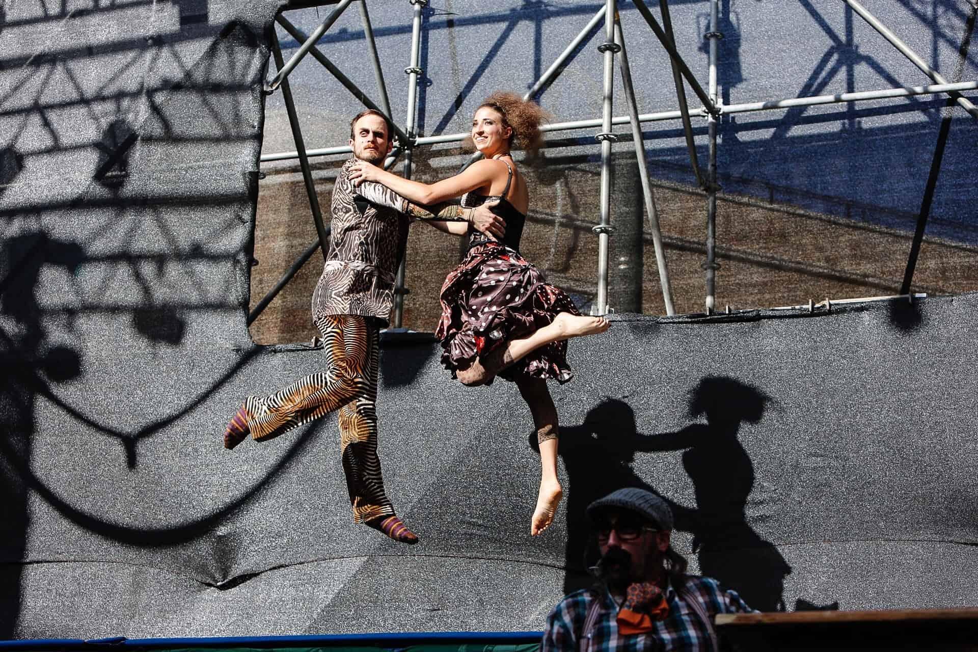 קרקס לה פוטיקה - כיכר ציון - במסגרת פסטיבל ישראל - צלם גיא יחיאלי