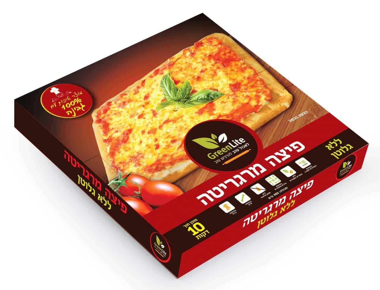 פיצה מרגריטה ללא גלוטן גרין לייט