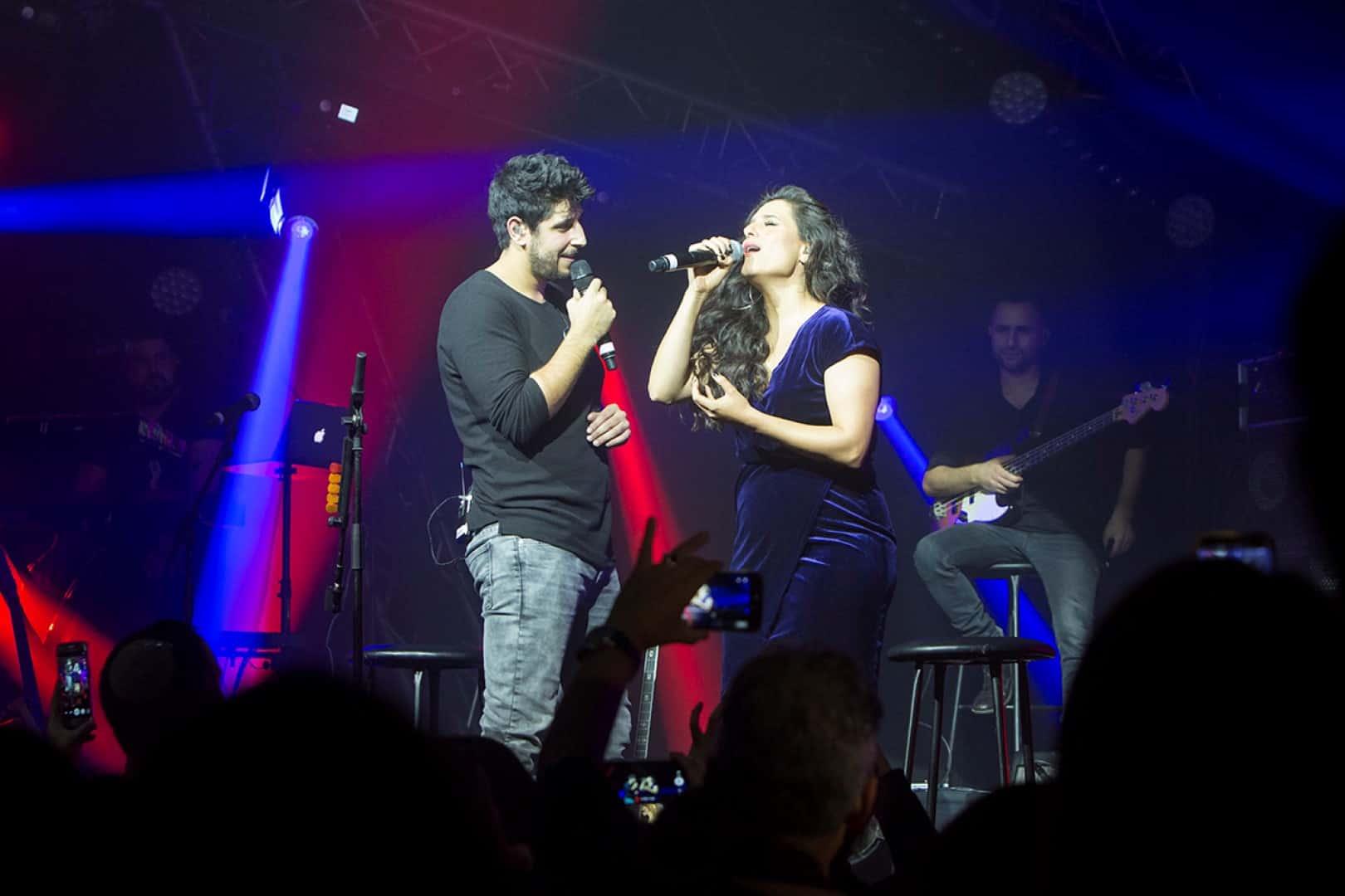 עידן עמדי ומירי מסיקה על הבמה (Large)